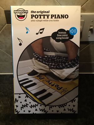 New Musical Potty Piano Gag Gift. $10 for Sale in Lake Stevens, WA