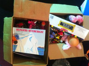 Box of Toys for Sale in Seattle, WA