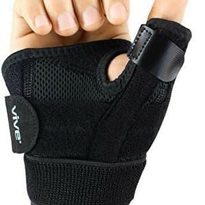 Vive Arthritis Thumb Splint - Spica Support Brace for Right and Left Hand - CMC Osteoarthritis Restriction for Pain for Sale in Houston, TX