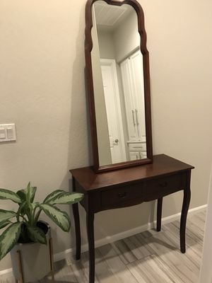 COME TODAY! Console Table and Mirror Set! for Sale in Brentwood, TN