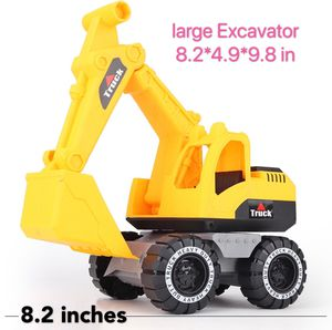 9.8 in large Excavator vehicle plastic toy for kids for Sale in Richmond, IN