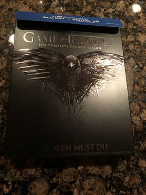 Game of Thrones The Complete Fourth Season Blu-ray for Sale in Leesburg, VA
