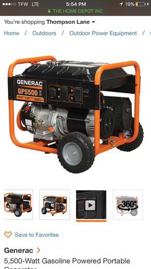 Brand new generac generator for Sale in Nashville, TN