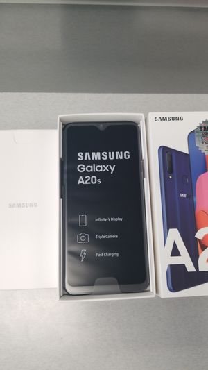 Samsung Galaxy A20s blue for Sale in Anaheim, CA