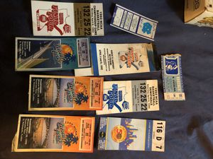 Duke used ticket stubs for Sale in Raleigh, NC