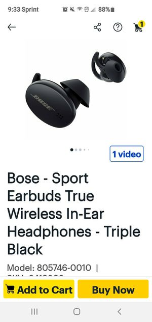 Bose Wireless Earbuds for Sale in Aurora, IL