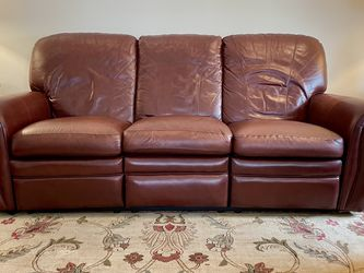 Leather Recliner Sofa & Love Seat for Sale in Audubon,  NJ