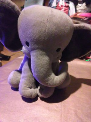 Plush elephant, stuffed animal,baby plush, elephant for Sale in Los Angeles, CA
