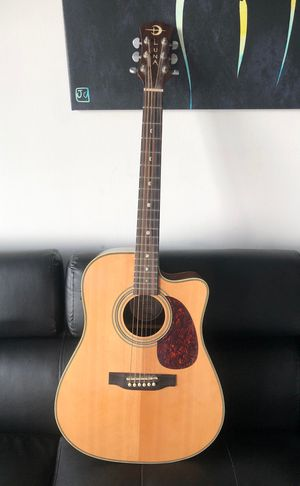 Luna, AM D 100 acoustic/ electric guitar. for Sale in West Palm Beach, FL