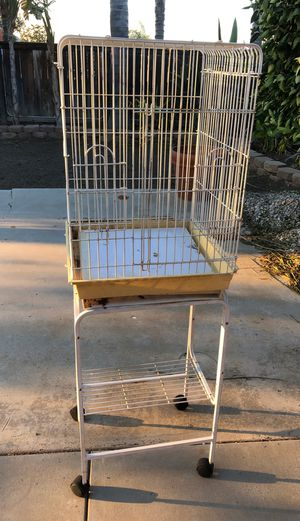 Bird cage and cart for Sale in Riverside, CA