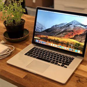 """Apple MacBook Pro Retina 15"""" (Mid 2015) Core i7 2.2GHz 16GB 256GB for Sale in Miami, FL"""