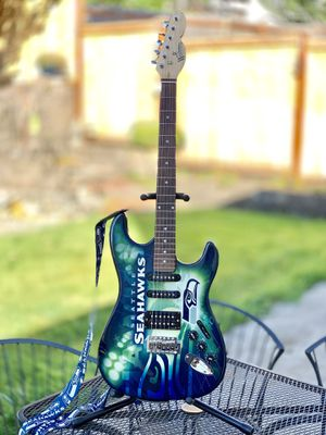 Limited Addition Official Seahawk Guitar for Sale in Puyallup, WA
