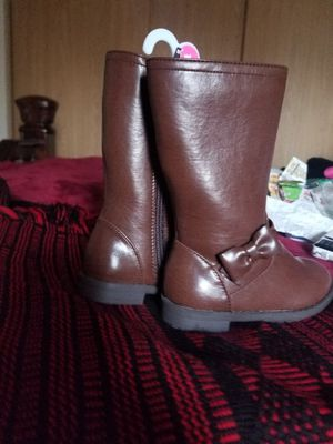 Brown girl boots Size 7 Brand New for Sale in Woodburn, OR