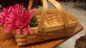 Longaberger 2 handled BASKET for Sale in St. Louis, MO