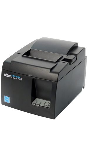 Star Micronics TSP143IIIU USB Thermal Receipt Printer with Device and Mfi USB Ports, Auto-cutter, and Internal Power Supply - Gray for Sale in San Francisco, CA