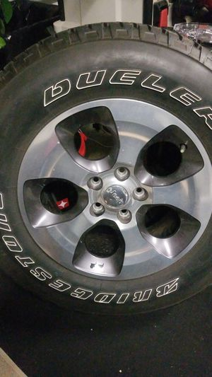 Tire with rim for Sale in Myrtle Beach, SC