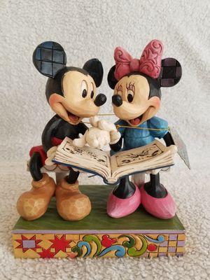 "Disney World Mickey and Minnie ""Sharing Memories"" Figurine for Sale in Celebration, FL"