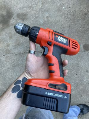 Black and decker drill for Sale in Salisbury, NC