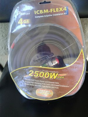 Amp wireing kit ,new for Sale in Riverside, CA