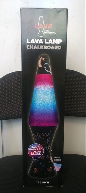 Chalkboard LAVA Lamp 17 inches for Sale in Kapolei, HI