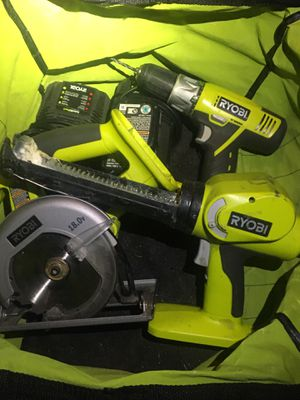 Ryobi Drill and Saw for Sale in Denver, CO