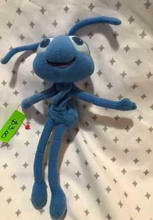 5 inch vintage a bugs life stuffed animal beanbag $3.00 for Sale in Menifee, CA