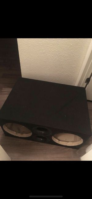 "Custom Subwoofer Box for 2""12's! Car Audio for Sale in Phoenix, AZ"