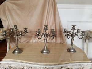 Silver chandeliers for Sale in Broadlands, VA