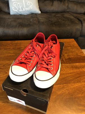 Converse all star leather size M9/W11 for Sale in Rockville, MD