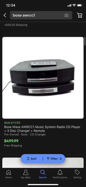 Bose Wave Music System for Sale in Fresno, CA