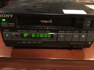 Sony video 8 tape player and recorder for Sale in Buffalo, NY