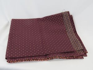 """Used, Dark Red Upholstery Fabric 56"""" x 70"""" 3 Sq. Yds. for Sale for sale  Wall Township, NJ"""