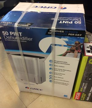 Cree Dehumidifier NEW in Box, Removes 50 Pints per DaY! for Sale in Palm Springs, FL