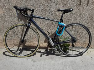 Giant Contend Aluminum Road Bike. Custom paint , Dark Grey.Fsa /tempo , shimano components. Ready to ride. BIKE LOCK NOT FOR SALE!!/NOT INCLUDED!! for Sale in Los Angeles, CA
