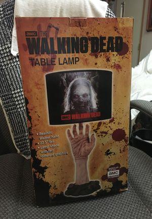 Walking Dead Table Lamp for Sale in Montrose, CO