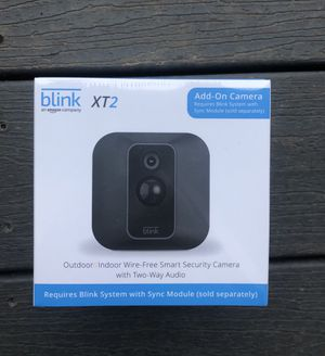 Blink XT2 outdoor/indoor smart security camera for Sale in Tualatin, OR