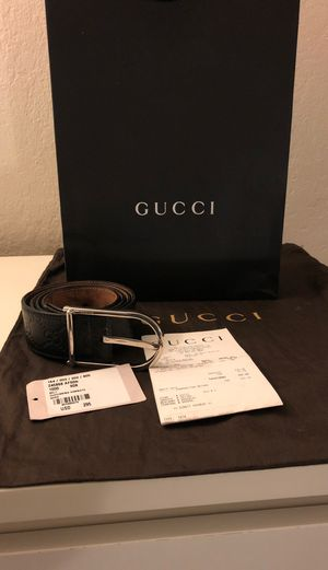 Black Gucci Belt (used) for Sale in San Ramon, CA