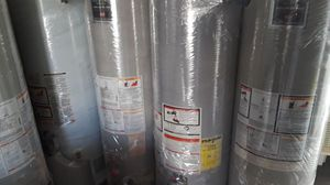 Special sale water heater today for 320 whit installation included for Sale in Hesperia, CA