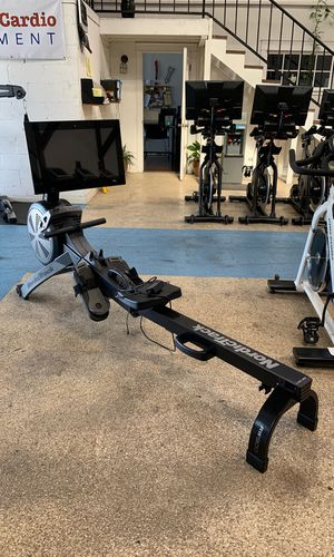 Rowing Machine with live trainers and interactive rowing trails! Never owned - retails for 1699 for Sale in Glendale, CA