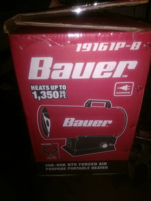 Bauer bullet heater (propane) for Sale in Manchester, NH