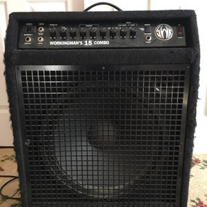 SWR Workingman's 15 Combo Bass Amplifier for Sale in Medford, NY