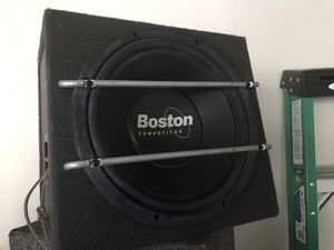 Boston subwoofer competition series for Sale in Fullerton, CA