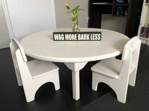 SOLID WOOD KIDS TABLE for Sale in South Gate, CA