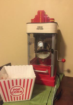 Popcorn popper for Sale in Potomac, MD