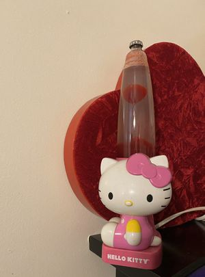 PINK HELLO KITTY LIQUID MOTION GLOW ELECTRIC LAVA LAMP for Sale in Los Angeles, CA