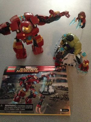 Lego 76031 The Hulk Buster Smash complete for Sale in Tempe, AZ