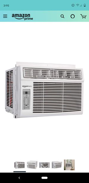 AmazonBasics Window-Mounted Air Conditioner with Remote - Cools 400 Square Feet, 10000 BTU, AC Unit for Sale in Seattle, WA
