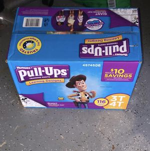 Huggies pull-ups 3t - 4t BRAND NEW!!! for Sale in Houston, TX