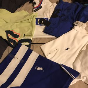 Brand New Men 2xl Shirts Nike, Polo, And Jordan Paris Jersey Material Shirt for Sale in Tacoma, WA