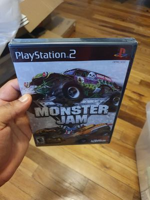 MONSTER JAM PS2 NEW SEALED for Sale in Modesto, CA